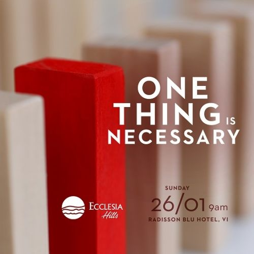 Ecclesia Hills One Thing Is Necessary 02