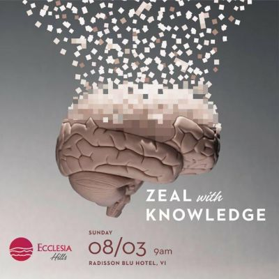 Zeal with knowledge