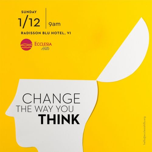 Change the way you think